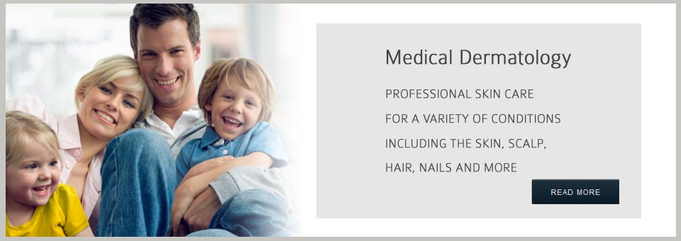 Professional skin care for a variety of dermatologic conditions.
